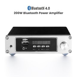 $enCountryForm.capitalKeyWord Australia - AIYIMA TPA3116 Bluetooth Hifi Power Amplifier Audio TF USB Amp Stereo Digital Mini Amplifier 100W Lossless Decoding Music Player