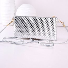 Coin Scale NZ - Cheap Shining Small Shoulder Bag For Women Fish Scale Leather Mini Crossbody Bags Brand Designer Envelope Evening Bolsa Flap Purses