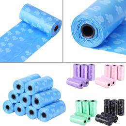 $enCountryForm.capitalKeyWord Australia - 10Rolls 150pcs Dog Poop Bag Pets Waste Garbage Bags Outdoor Carrier Biodegradable Clean-up Waste Pick Up Clean Bag For Cats Dogs