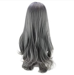 $enCountryForm.capitalKeyWord UK - Women Wig LESS Lace Front Sexy Gradient Black Party Wigs Long Curly H0air Mixed Colors Synthetic Wig Hair Party Wigs 061