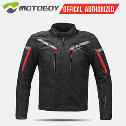 Discount yellow jacket fabric - Motoboy seasons motorcycle jacket Sets Oxford Fabric Jacket Motorcycle Suit warm liner protective gear CE pad MB-J07