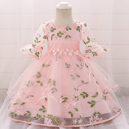 $enCountryForm.capitalKeyWord NZ - 2019 Clothes Baby Girl Dress Christening Dress For Girl Frock 1st Birthday Party And Wedding Princess Baptism Dress 3 6 12 Month