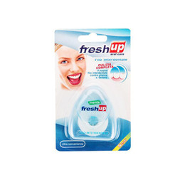 Wholesale Portable 50m Dental Flosser Oral Hygiene Teeth Cleaning Wax Mint Flavored Dental Floss Spool Toothpick Teeth Flosser N0502