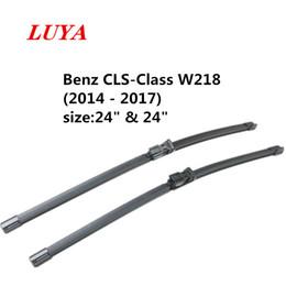"""Luya essuie-lame en essuie-glace voiture pour Mercedes Benz CLS-Class W218 (2014-2017) Taille: 24"""" 24"""" en Solde"""