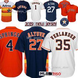 ca7ce0b50aa Houston baseball online shopping - 27 Jose Altuve jerseys Houston Astros  Justin Verlander George Springer Carlos