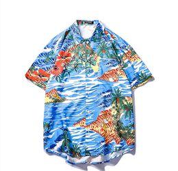 3fdad4b3d Clothing Hawaii UK - Hawaii Styles Beach Shirt Mens Geometric Print Summer  Holidays Short Sleeve Clothing