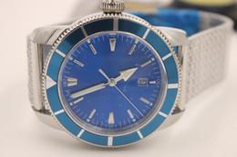 Marine Luxury Watch Australia - super marine steel case - metal blue dial A1732016 C734 152A Ocean Classic three-needle automatic stainless steel men's watch