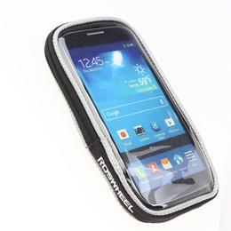 Сумка с сенсорным экраном для велосипеда Держатель для мобильного телефона Подставка для мотоцикла Держатель для велосипеда