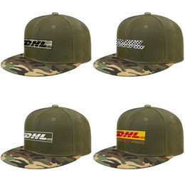 $enCountryForm.capitalKeyWord Australia - DHL Express International Transport For men and women Baseball Camouflage Cap Cool Fitted Team hats Plaid printing Vintage old
