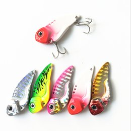 $enCountryForm.capitalKeyWord Australia - Cheap Lures 7G 12G Metal Fishing Vibration Spoon Lure Crankbait Bass VIB Artificial Hard Baits Fishing Blade Lure Sinking Bass Bait