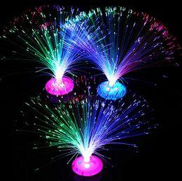 $enCountryForm.capitalKeyWord Australia - Party Decorations Fiber Optic Lamp Light Holiday Wedding Fiberoptic LED Festive Christmas Colorful flashing starry glowing gem fiber flower