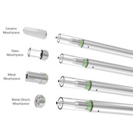 $enCountryForm.capitalKeyWord Australia - Free shipping disposable vape pen cartridges empty 0.5ml glass tank oil atomizer ceramic core one-time use disposable battery 310mah ecigs