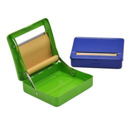 $enCountryForm.capitalKeyWord Australia - New color metal cigarette box, 70mm semi-automatic cigarette maker