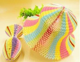 $enCountryForm.capitalKeyWord Australia - 100PCS Magic Vase Paper Hats Handmade Folding Hat for Party Decorations Funny Paper Caps Travel Sun Hats Colorful