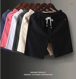 Ingrosso Pantaloncini nuovi arrivati pantaloni da uomo pantaloni da uomo cinque punti pantaloni traspiranti da uomo pantaloni da uomo mens taglia M - 5XL in 6 colori tra cui scegliere
