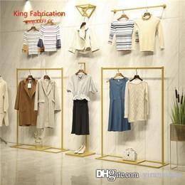 $enCountryForm.capitalKeyWord NZ - Clothing shop hanger display rack wall hanging women's clothing shop floor men's shop wall shelf