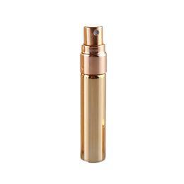 Black perfume sprayer online shopping - 5ml UV Gold Silver Black Perfume Atomizer Empty Travel Bottle Parfum Women Pocket Spray Refillable Glass Bottles