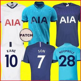 spurs shirt Australia - 19 20 KANE NDOMBELE football uniform 2019 2020 jersey football suit shirt men's and children's suit uniform LUCAS SPURS ERIKSEN DELE SON TOT