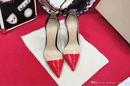 $enCountryForm.capitalKeyWord NZ - fashion new women dress high heels shoes Transparent material with leather Casual and fashionable ladies dress shoes fashion show new style