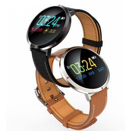 golden color watches Canada - S2 Smart Watch IPS Color Screen Bluetooth Wristwatch Leather Wristband Multiple Sports Mode For Home Outdoor Classic Fashion Enjoy Li