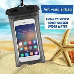 Dynamic Waterproof Bag Case Universal 6.5 Inch Mobile Phone Bag Swim Case Take Photo Under Water For Iphone 7 Full Protection Cover Case High Resilience Cellphones & Telecommunications