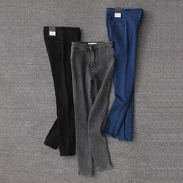 $enCountryForm.capitalKeyWord Australia - Newly Added Trousers Nine Part Topi High Waist Elastic Force Self-cultivation Show Thin And Small Foot Jeans Pencil Pants Woman Tide