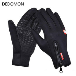 $enCountryForm.capitalKeyWord Australia - Outdoor Sports Waterproof Hiking Winter Bicycle Bike Cycling Gloves For Men Women Windstopper Simulated Leather Soft Warm Gloves C18122601