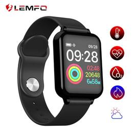 B57 Reloj inteligente Presión Arterial Monitor de Ritmo Cardíaco IP67 Impermeable Deporte Fitness Trakcer Reloj Hombres Mujeres Reloj Inteligente en venta