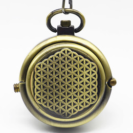 $enCountryForm.capitalKeyWord Australia - New Arrival Vintage Matte Bronze Rotatable Shell Hand Wind Mechanical Pocket Watch For Men Women Gift