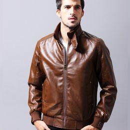 Clothing Motorcycle Jacket Australia - good quality 2019 Brand New Men's Jackets Leather Pu Leather Motorcycle Leather Jackets For Male Casual Wear Outer Wear Clothing