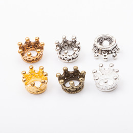 $enCountryForm.capitalKeyWord NZ - Cheap 34pcs Crown Vintage zinc alloy metal pendant for diy jewelry making 5620 Charms