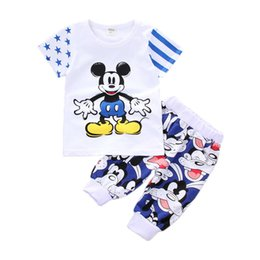 tutus for boys 2019 - 2019 Children Summer Wear Outfits For Girls New T-shirt Shorts 2 Piece Set Children Children's Clothing Sportswear