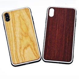 handmade wood phone cases Canada - Handmade wooden phone cover for iphone xs max xr 7 8 plus 11 pro wood case nature frienldy protective shell