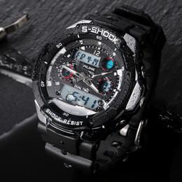 $enCountryForm.capitalKeyWord Australia - 2019 New Luxury Casual Watch Men G Style Waterproof Sports Military Watches Shock Men's Luxury Analog Digital Quartz Clock