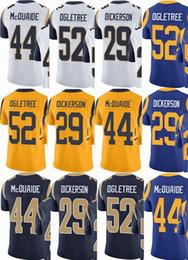 custom men youth women  29 Eric Dickerson 52 Alec Ogletree 44 Jacob  McQuaide Vapor Untouchable Limited rush elite jerseys  Hockey Jackets e2bd28619