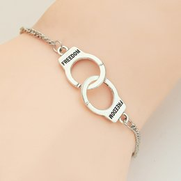 cheap bracelets for wholesale 2021 - Cheap France Famous Brand Jewelry Alloy Handcuff Bracelet For Women Men wholesale silver golden couple bracelet charm