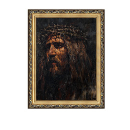$enCountryForm.capitalKeyWord Australia - High Quality Handpainted & HD Print Religious Figure Portrait Art Oil Painting Jesus Christ On Canvas Wall Art Home Office Decor p50
