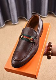 $enCountryForm.capitalKeyWord Canada - duping520 Classic brown business shoes Men Dress Shoes Moccasins Loafers Lace Ups Monk Straps Boots Drivers Real leather Sneakers Shoes
