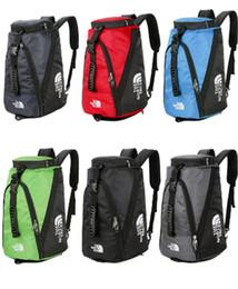 $enCountryForm.capitalKeyWord Australia - Brand Designer Handbags Totes The North Sports Travel Duffle Bag School Backpack Unisex Face One Shoulder Bags Luggage Bag 6Color New B81201