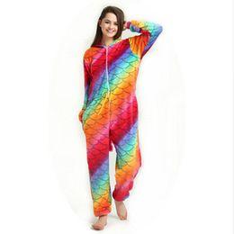 7a3a88f1e712 2019 New Onesie Animal Kigurumi Unicorn Onesies Adult Women Pajamas Hooded  Sleepwear Flannel Homewear Lounge Panda Pikachu Q190420