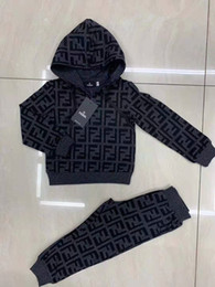 Wholesale feather woolen jackets for sale - Group buy Newborn Infant Kid Baby Boys Girls Autumn Long Sleeve Hooded Tops Romper Plaid Long Pants Outfits Baby Clothes for