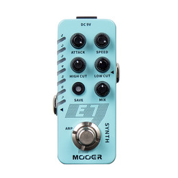 pedal mooer UK - MOOER E7 Polyphonic Guitar Synth Pedal 7 different types of brand-new MOOER SYNTH tones