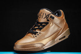 6c8a8c5e011 Top Quality 3 Gold Drake OVO x 3 61x JTH NRG Bio Beige Man Basketball Shoes  Camellia Suede Colorway For Outdoor Sneakers