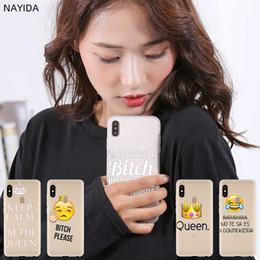 Case leather for xiaomi redmi note online shopping - Fashion Soft TPU Case Cover For Coque Xiaomi Redmi X A A a Y3 K20 Plus Note Pro Bitch