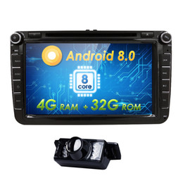 $enCountryForm.capitalKeyWord Australia - 4G+32G Android 8.0 8 Octa-Core 2DIN CAR DVD PLAYER For Seat Altea Leon Toledo VW Passat POLO golf 5 6 touran Radio stereo