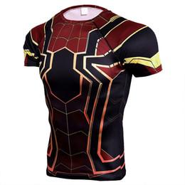 Tights Man Costume NZ - T-Shirt Super Men Batman 3D Printed New Short Sleeve Fitness Tights Running Sport Shirt Mens Rashgard Gym Cosplay Tops Tees Clothing Costume