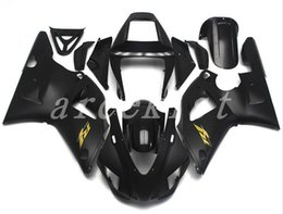 $enCountryForm.capitalKeyWord UK - New ABS motorcycle bike Fairing Kits Fit For YAMAHA YZF-R1 98 99 YZF1000 1998 1999 R1 fairings bodywork set custom black matte