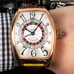 $enCountryForm.capitalKeyWord Australia - 8 Style New 40mm 8880 Las Vegas Casino Sexy Russian Turntable Rose Gold Case White Dial Automatic Mens Watch Leather Strap High Quality