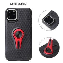 Vente en gros 360 Béquille TPU magnétique téléphone cellulaire cas pour Iphone 11 Pro Max Samsung Galaxy Note 10 Plus A70 Huawei Maté 30 cas Armure