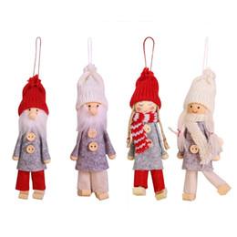 $enCountryForm.capitalKeyWord Australia - 2019 Merry Christmas Ornaments Cartoon Doll Pendant Forest Doll Decorations Santa Snowman Decorations For Home New Year Gifts